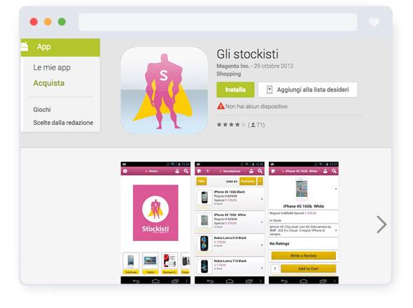 "HT&T - App ""Gli Stockisti"" Android"