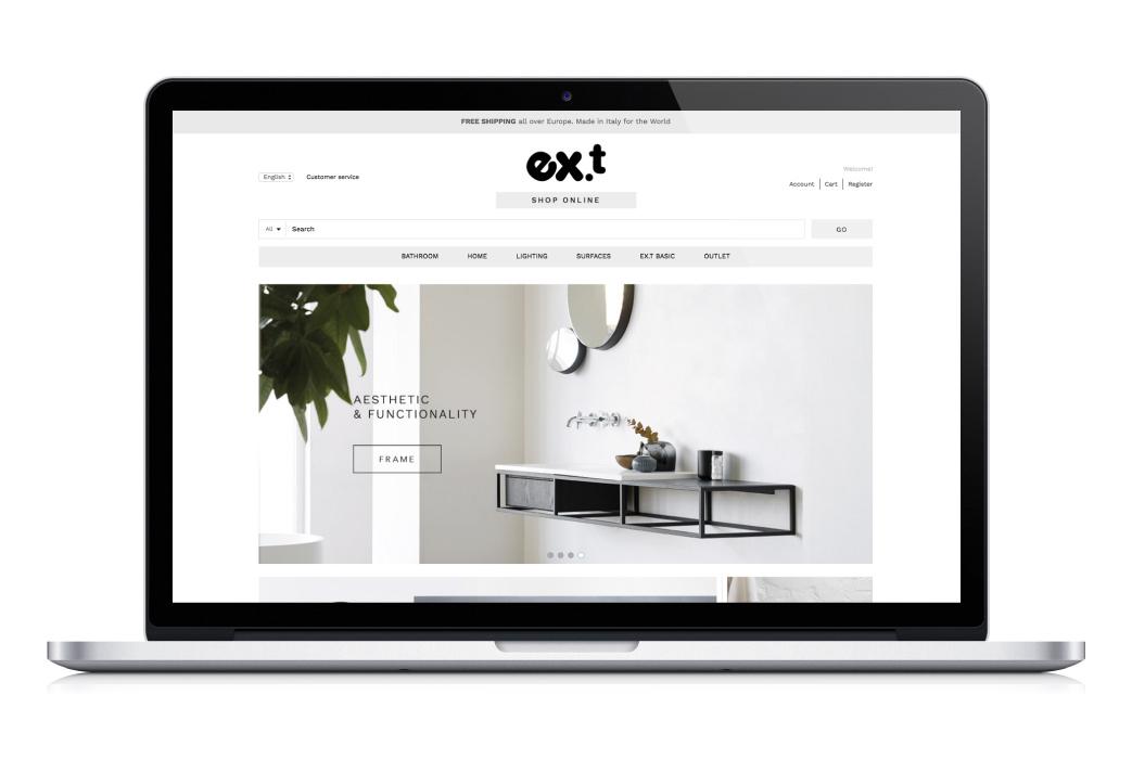 Ex.t - Website