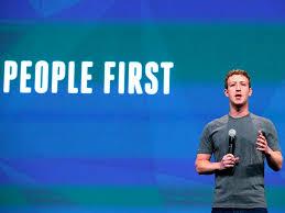 facebook Le persone vengono prima di tutto