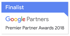 Google Premier Partner Awards 2018 Finalist